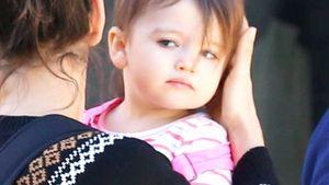 Seltene Baby-Fotos: So groß ist Ashton Kutchers süße Wyatt!