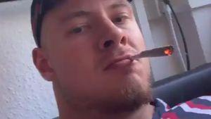Raucht Bachelorette-Yannic in diesem Clip einen Joint?