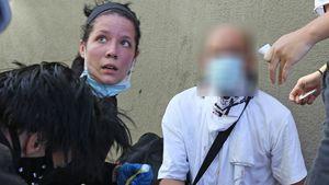 Unruhe in Amerika: Halsey verarztet verwundete Demonstranten