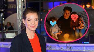 Zum Vatertag: Yvonne Catterfeld postet seltenes Familienfoto