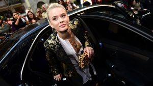 Zara Larsson bei der Fashion-Week in Mailand 2016