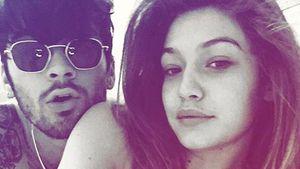 Zayn Malik und Gigi Hadid im Bett