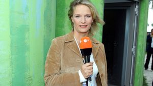 "ZDF-Moderatorin Jana Thiel bei den ""FEI World Equestrian Games"" in Aachen 2006"