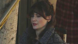 """Am Set erwischt: Zooey Deschanel dreht wieder für """"New Girl"""""""