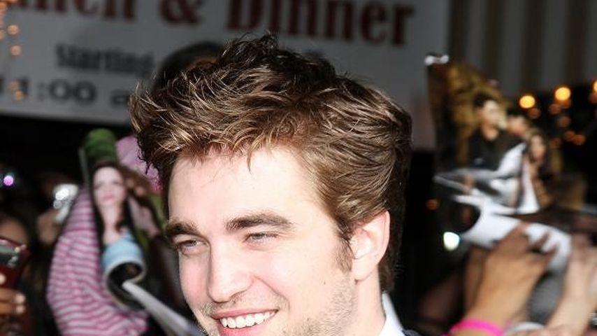Robert Pattinson hat sich seinen Zahn abgebrochen