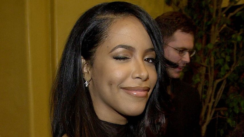 Aaliyah Dana Haughton im März 2000