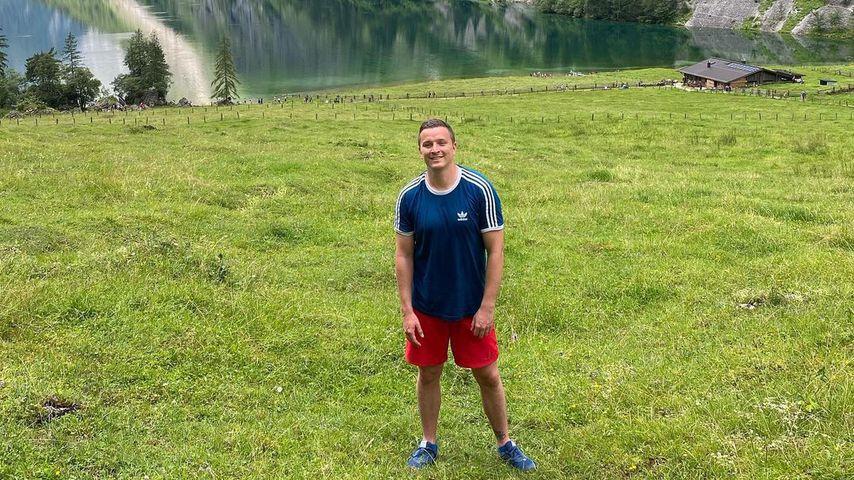 Aaron Troschke am Königssee in Bayern