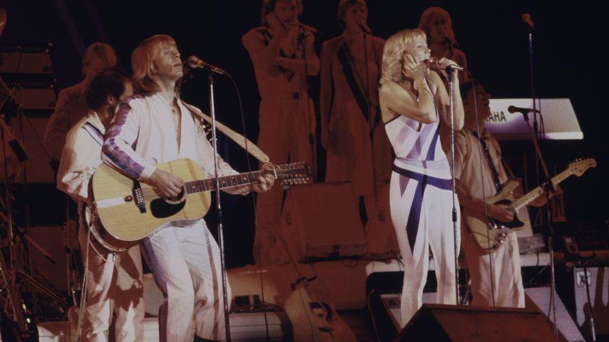 ABBA bei ihrer finalen Tour im Jahr 1979