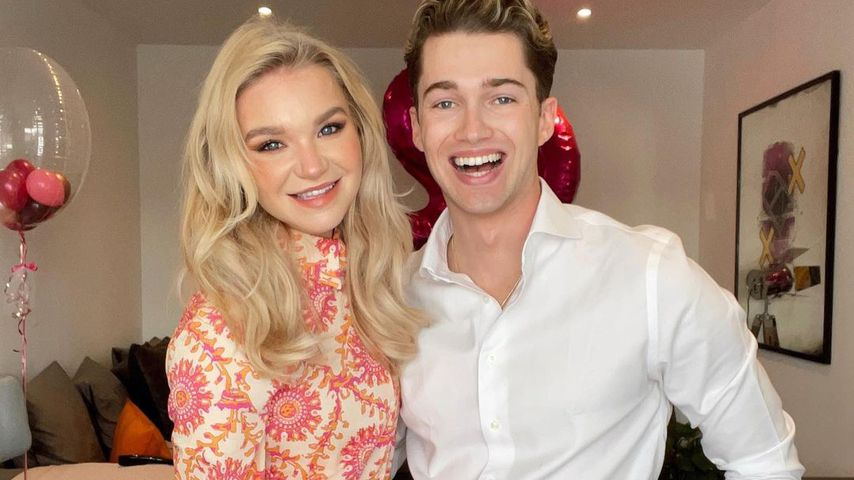 Abbie Quinnen und AJ Pritchard im Mai 2021