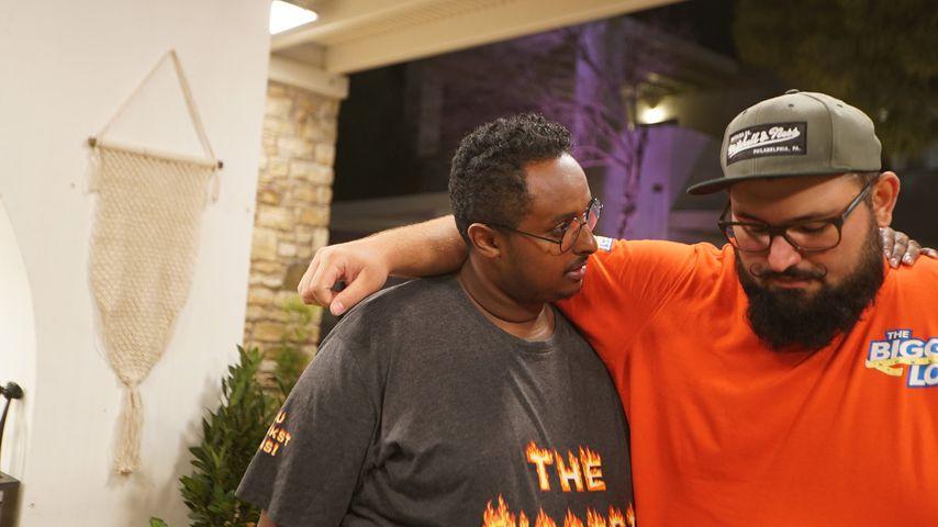 """Abdi und Anthony, Kandidaten bei """"The Biggest Loser"""""""