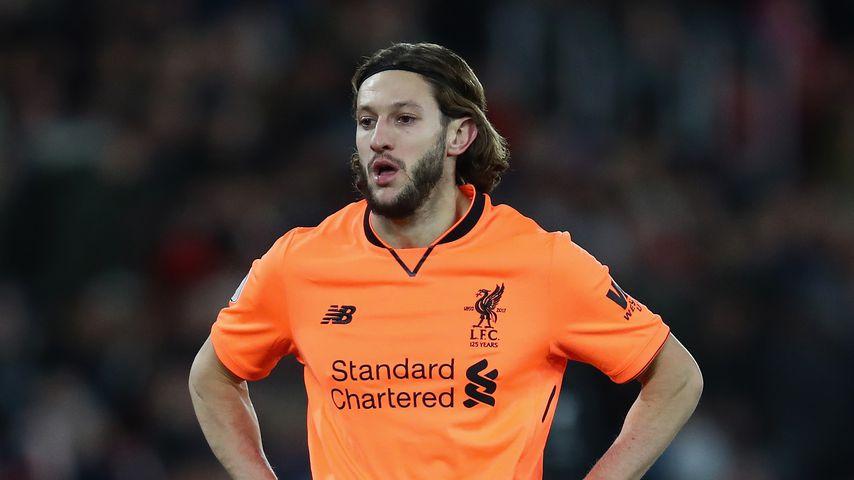FC Liverpool-Spieler Adam Lallana