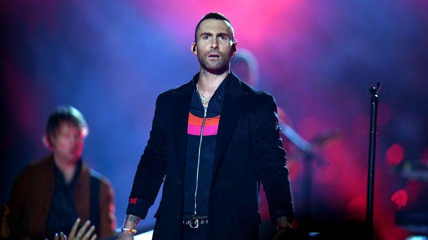 Adam Levine mit seiner Band Maroon 5