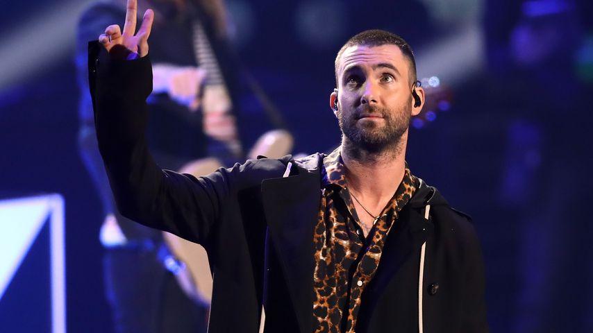 Adam Levine mit Maroon 5 beim 2018 iHeartRadio Music Award