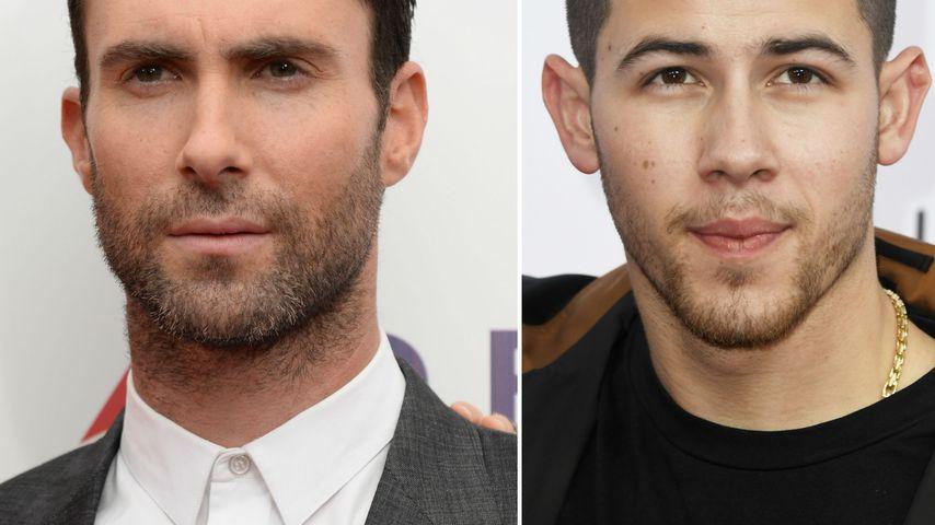 Adam Levine verspottete Nick Jonas wegen Dental-Fauxpas!