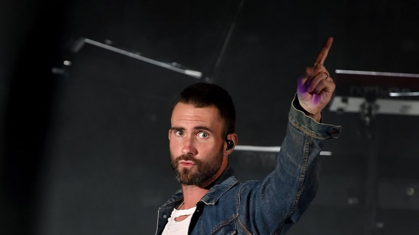 Adam Levine bei einem Konzert in der Hollywood Bowl