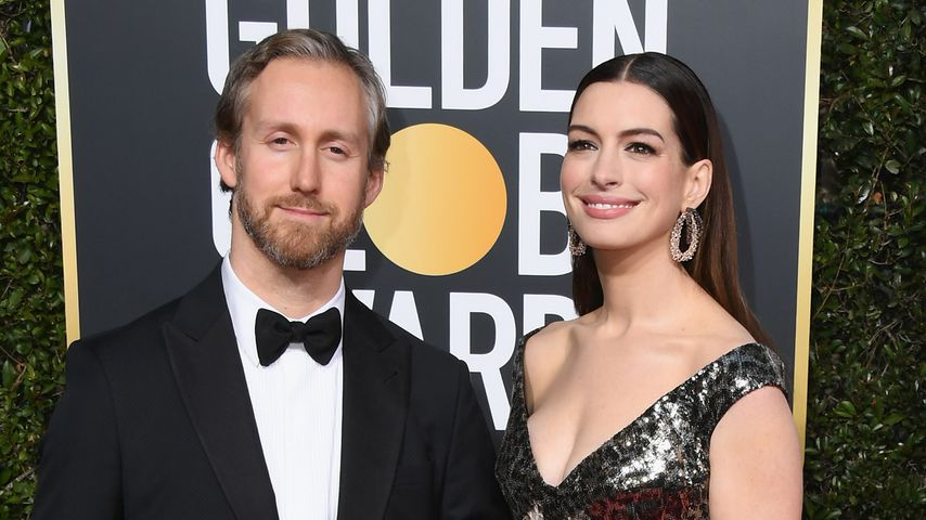 Kein Hungerhaken: Anne Hathaway mit kurvigem After-Baby-Body