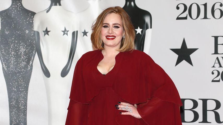 Adele im Februar 2016