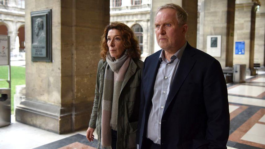 """Adele Neuhauser und Harald Krassnitzer in """"Tatort: Die Faust"""""""
