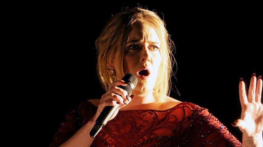Schiefe Töne: Adele enttäuscht mit ihrem Grammy-Auftritt