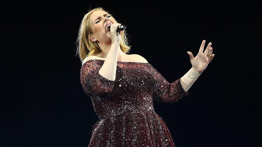 Sängerin Adele 2017