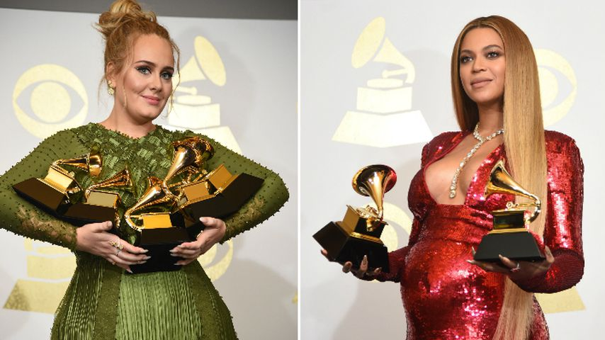 In Tränen aufgelöst: Adeles rührende Grammy-Rede für Beyoncé