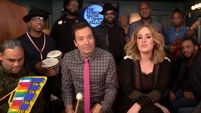 "Aber ""Hello""! Adele & Jimmy Fallon rocken das Klassenzimmer"
