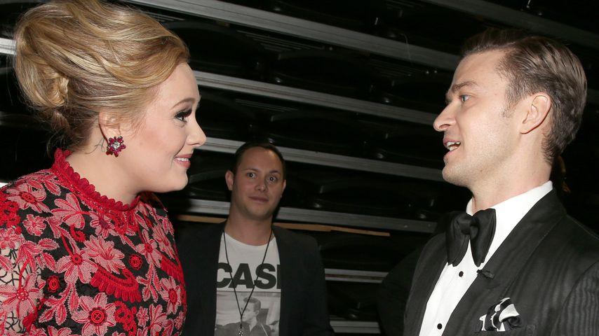 Adele und Justin Timberlake bei den Grammy Awards 2013