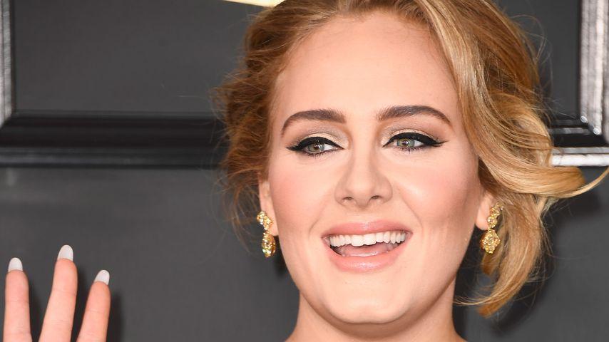 Adele im Februar 2017