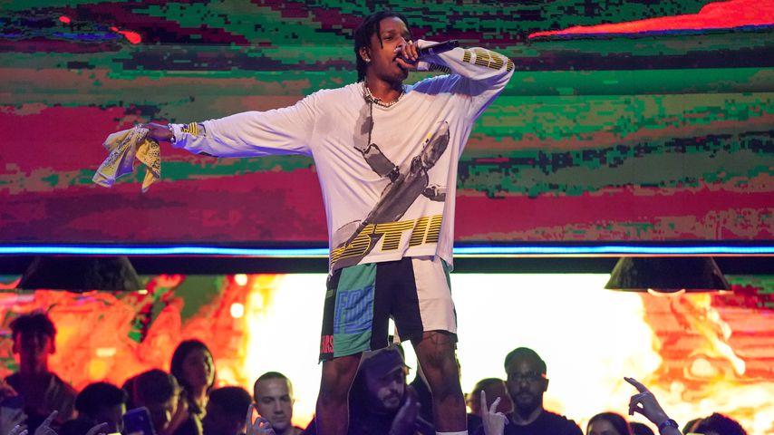 A$AP Rocky bei einem Konzert
