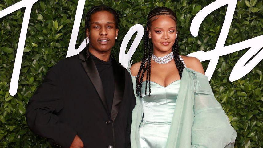 A$AP Rocky und Rihanna im Dezember 2019