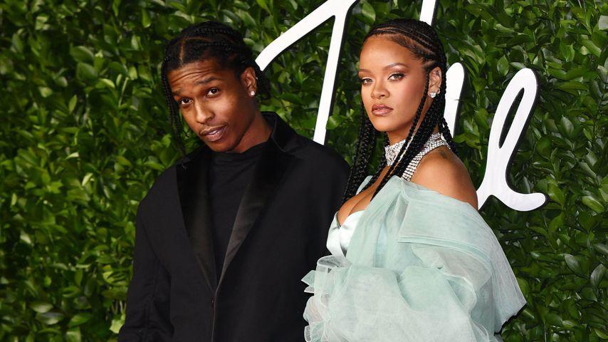 ASAP Rocky und Rihanna 2019 in London