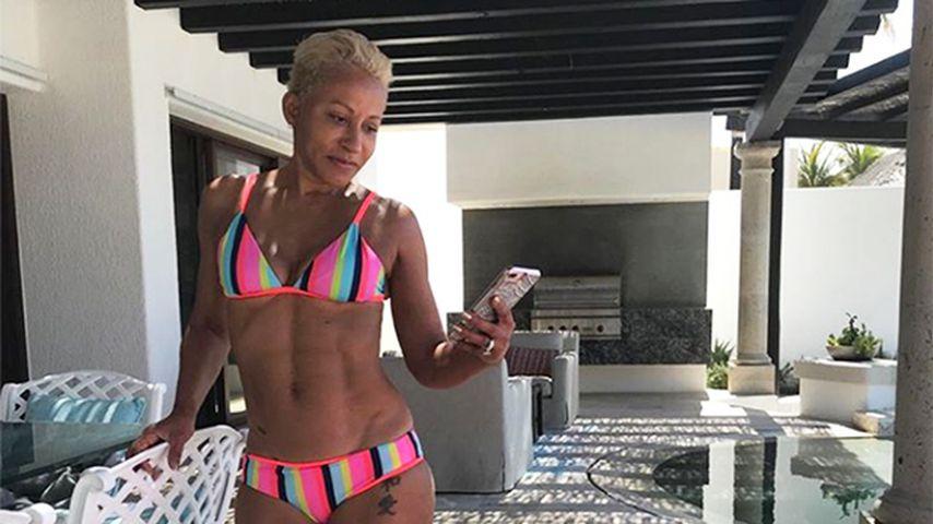 Krasser Body! Jada Pinkett-Smiths Mutter (64) zeigt Sixpack