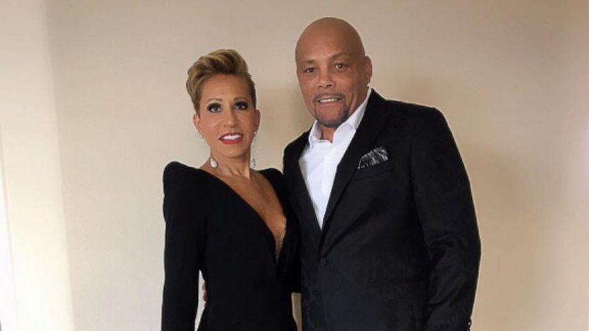 Adrienne Banfield-Norris mit ihrem Mann Rodney, 2020