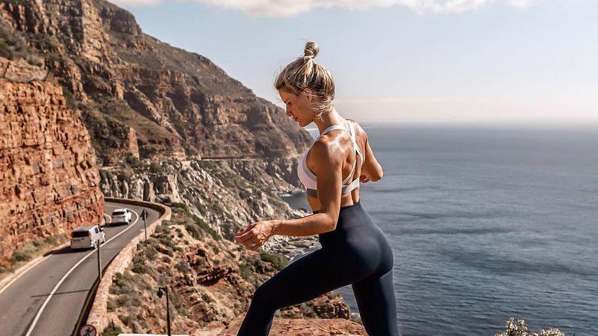 Adrienne Koleszár in Kapstadt