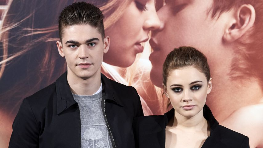"""After Truth""-Stars Hero Fiennes Tiffin und Josephine Langford im März 2019 in Madrid"