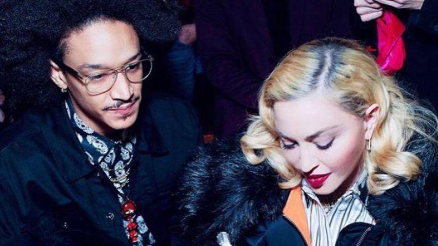 Madonna mit ihrem Toyboy