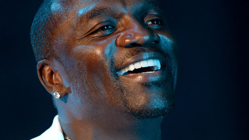 Rapper Akon bei einem Auftritt in Marocco 2015