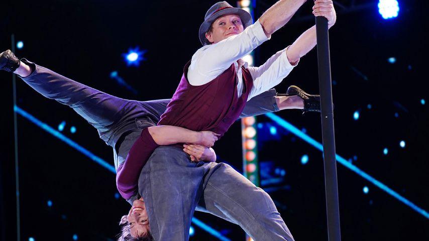 """Supertalent""-Akrobatik-Duo Kira und Anders"