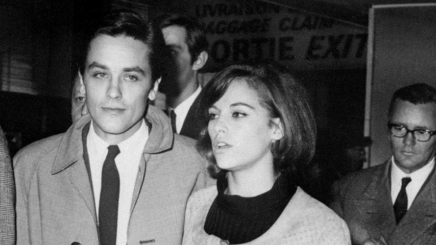 Alain und Nathalie Delon 1967
