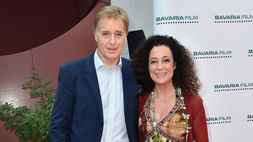 Albert Fortell und Barbara Wussow am Filmfestival in München