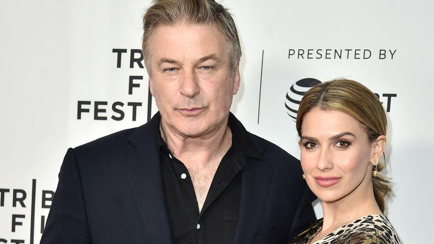 Alec und Hilaria Baldwin im April 2019