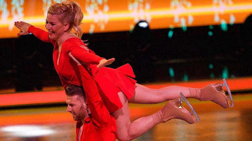 "Aleksandra Bechtel und Matti Landgraf bei ""Dancing on Ice"""