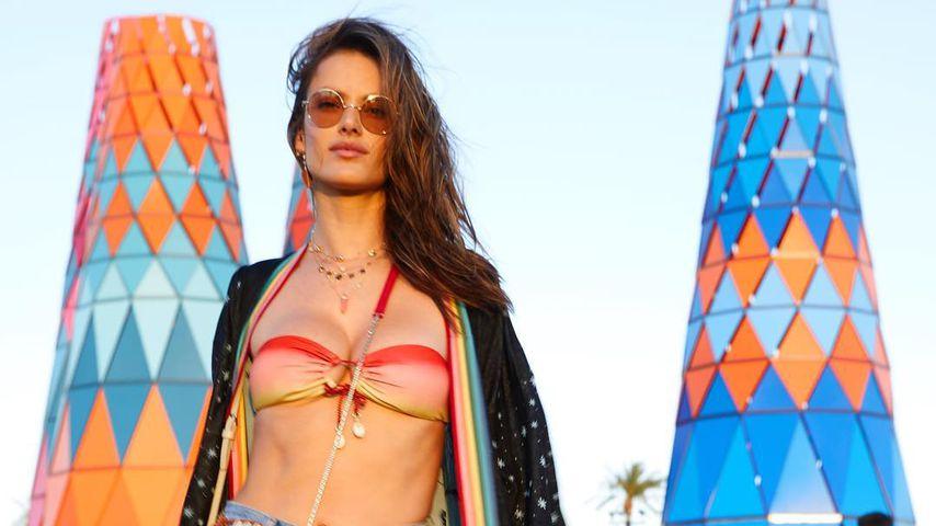 Alessandra Ambrosio feiert heißen B-Day beim Coachella