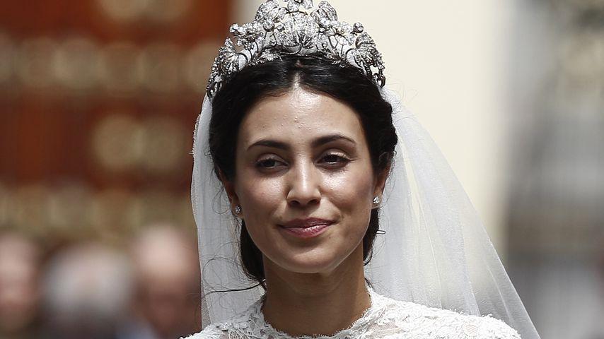 Prinzessin Alessandra von Hannover bei ihrer kirchlichen Trauung