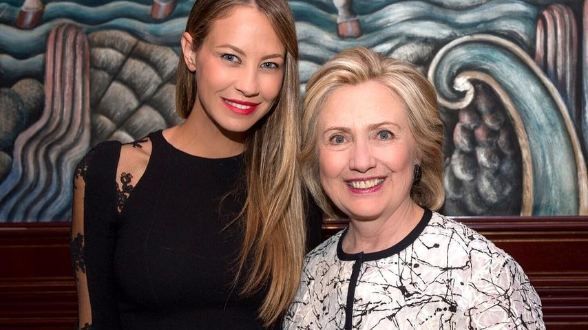 Alessandra Meyer-Wölden und Hillary Clinton