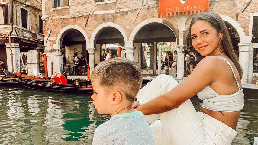 Alessio und Sarah Lombardi in Venedig