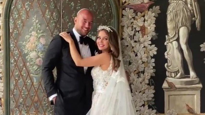 Alex Beliaikin und Kim Gloss bei ihrer Hochzeit