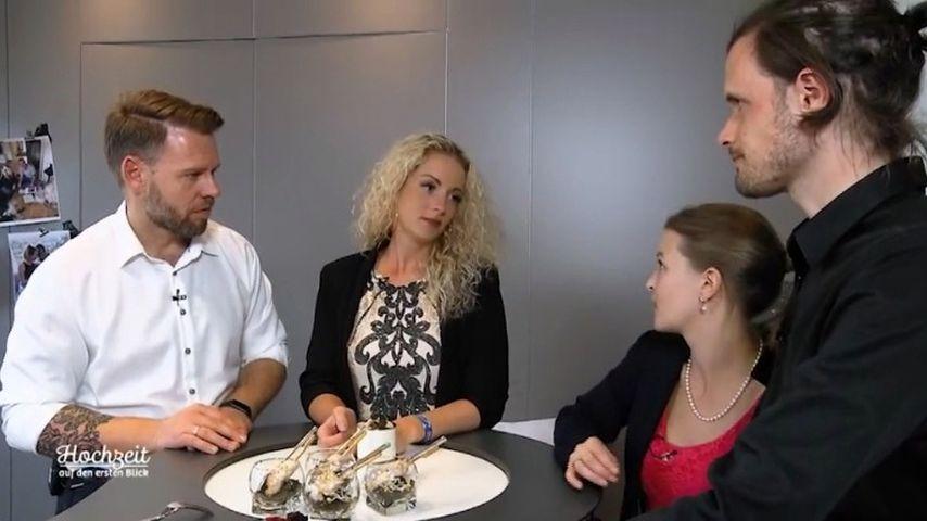 """Alex, Cindy, Ramona und Stephan von """"Hochzeit auf den ersten Blick"""""""