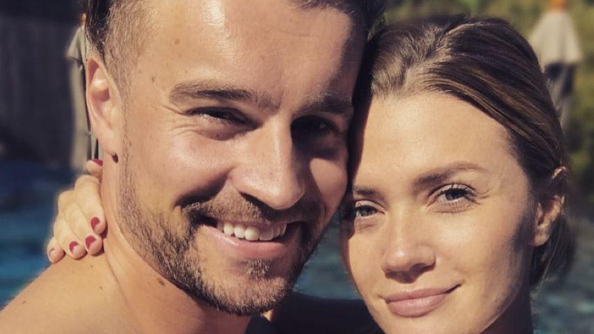Alexander Hindersmann und Nadine Klein im Urlaub