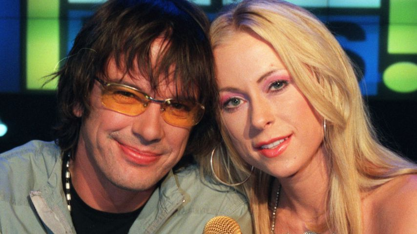 "Alex Jolig und Jenny Elvers bei ""Top of the Pops"""